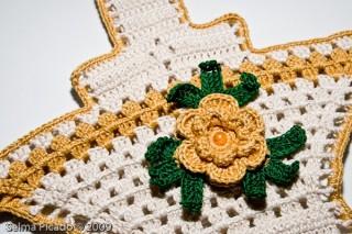 Pegador em Crochet 3