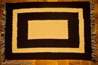 Tapete em Crochet