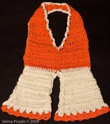 Conjunto de Pegadores em Crochet