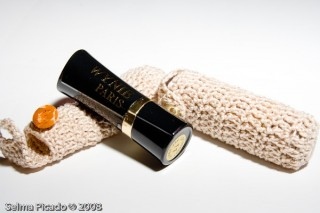 Porta-Batom em Crochet