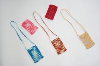 Bolsas para Telemovel em Crochet